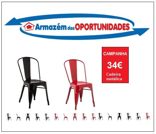Cadeira metálica
