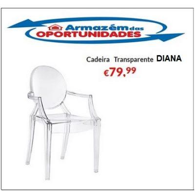 Cadeira Diana - Transparente