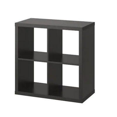 estante 77x30x77. preta